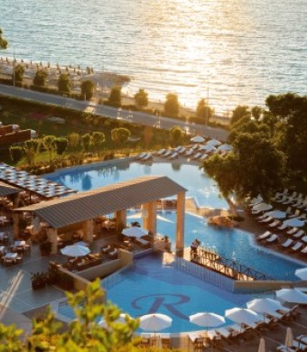 Single parent holidays Greece - our hotel