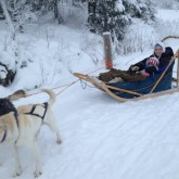 Husky Sleigh Rides | Single With Kids Overseas