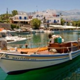 Single With Kids | Sissi Harbour, Crete