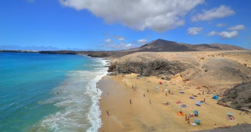 Beautiful lanzarote beach | Family beach holiday