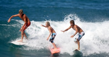 Single parents holidays watersports