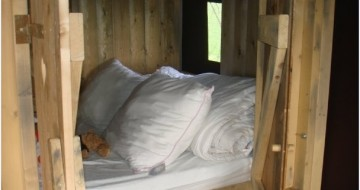 Cabin Bed | Glamping with Single With Kids