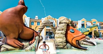 Water slides in Menorca