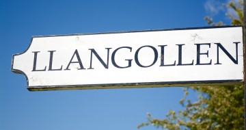 Llangollen Sign | Bank Holiday Break