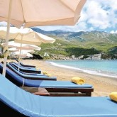 Becici Beach in Montenegro | Single With Kids