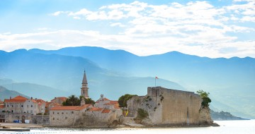 Morning in Old Town of Budva | Single With Kids