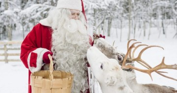 See Father Christmas in Lapland
