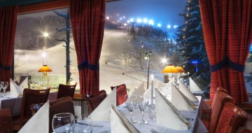 Hotel Restaurant with views over Ruka Lapland