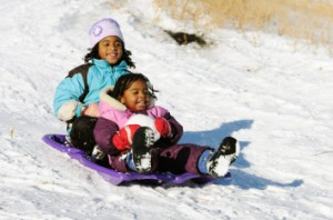Single parent family holiday to Lapland | Small family winter holidays