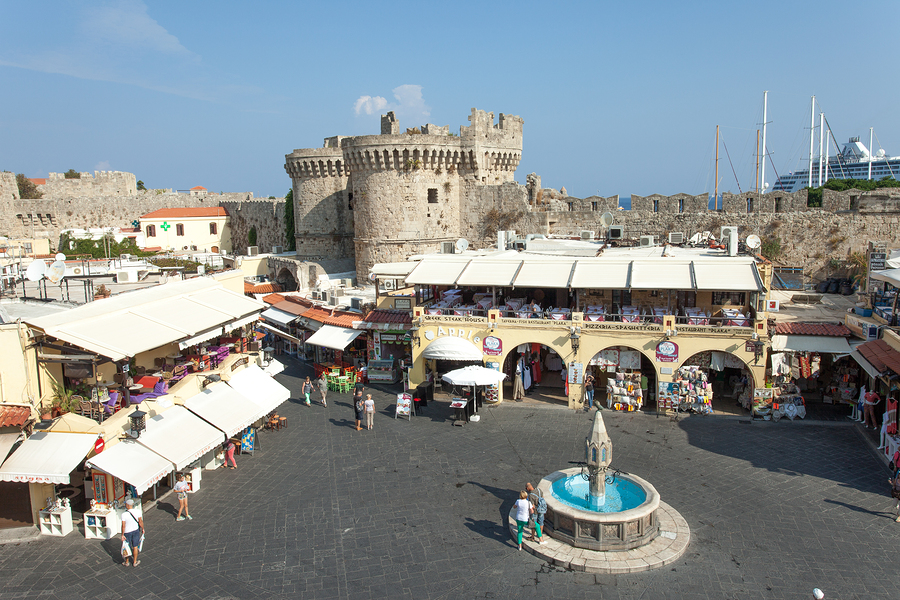 Rhodes Old City - Holidays for single parents