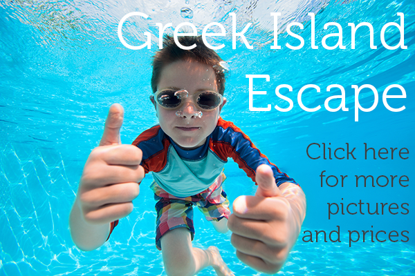 Greek Island Escape Holiday Page